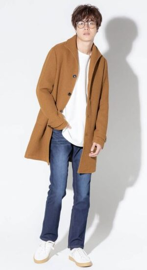 メンズファッションプラス冬コーディネイト